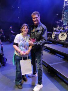 Meet & Greet mit David Hasselhoff vor dem Konzert