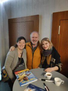 Fan mit Peter Reber und Tochter Nina